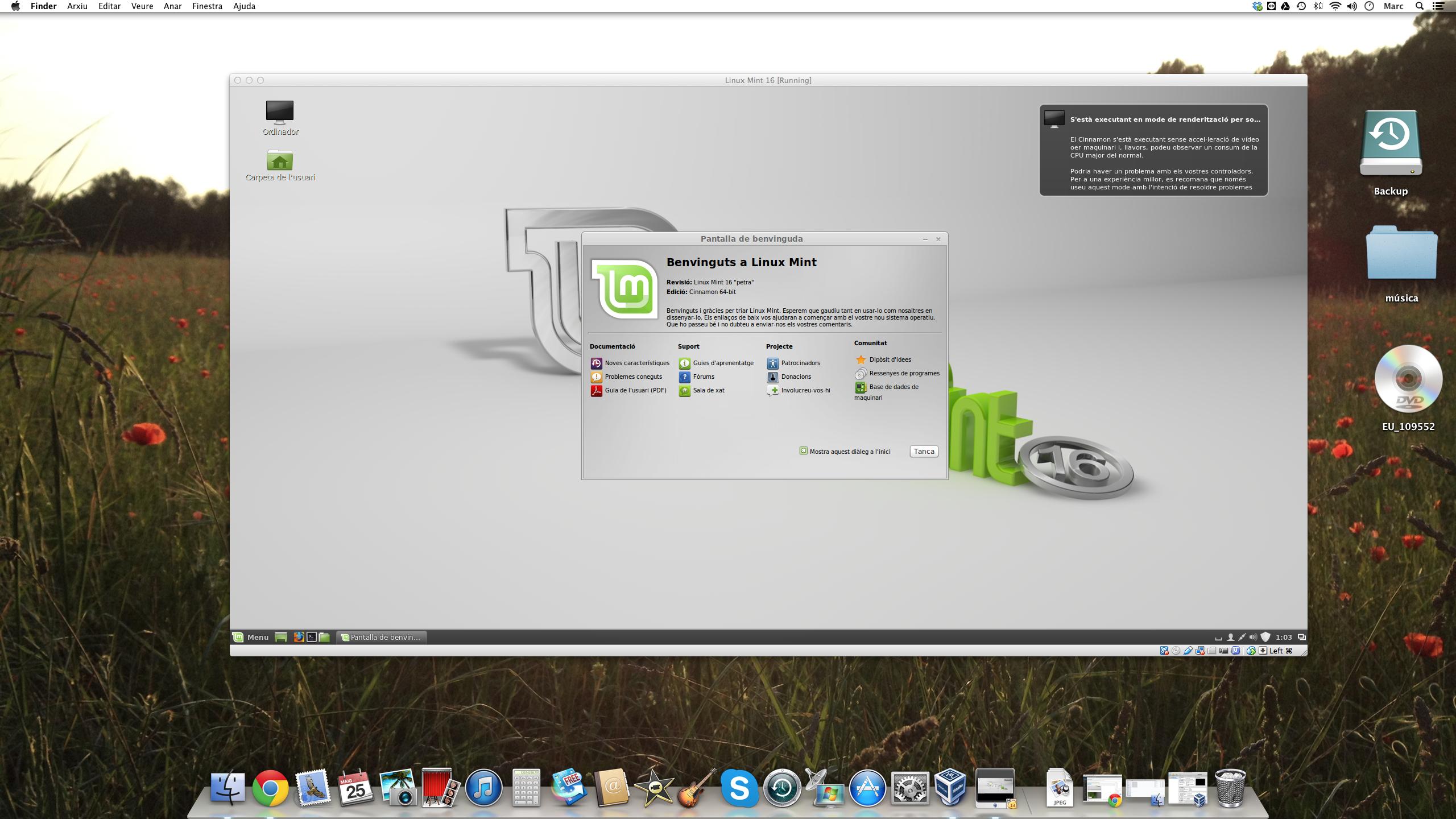 Linux sobre Mac