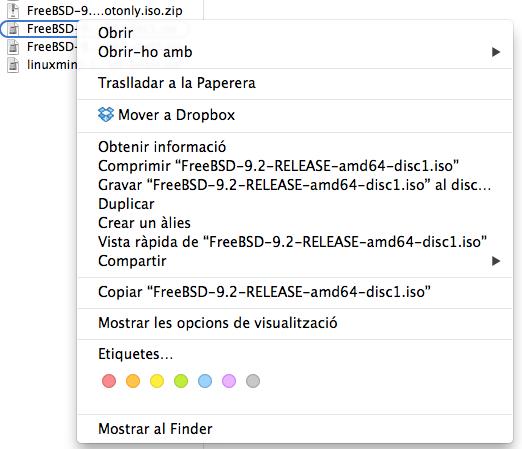 Gravar ISO al Mac