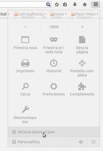Firefox Sync