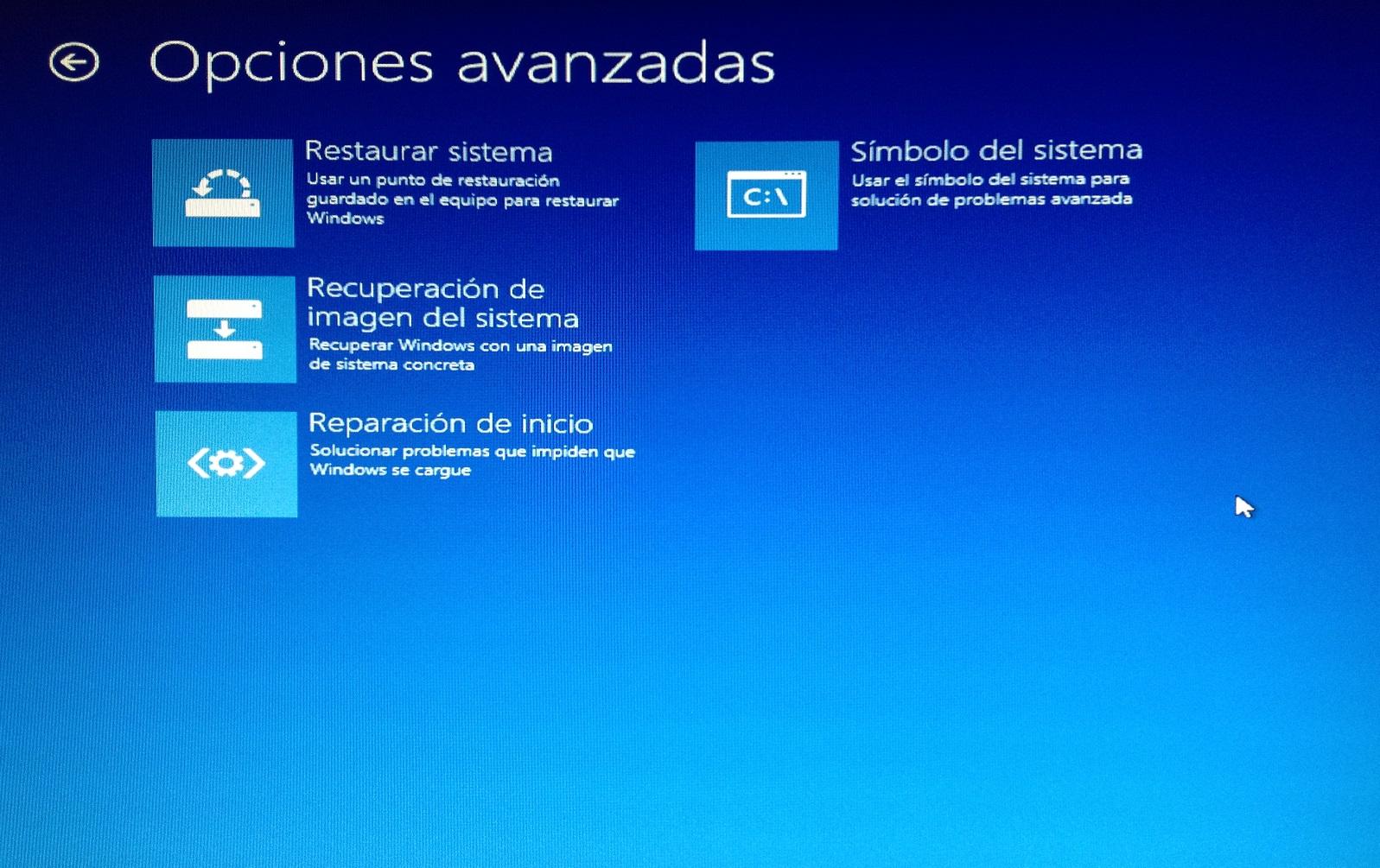 Restaurar Windows - dactil Mantenimiento Informático para empresas Barcelona