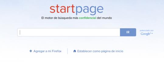 StartPage cerques a Google amb respecte a la teva privacitat