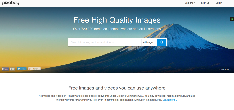 Fotos i vídeos gratis a Internet