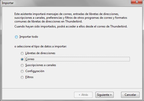 Cómo pasar correos de Outlook a Thunderbird - dactil Mantenimiento Informático Barcelona